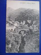 SUBIACO - PONTE S.MAURO  1904 CARTOLINA DI 109 ANNII!! - Other Cities