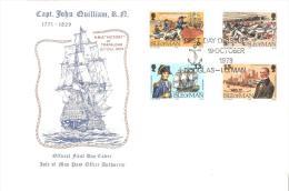 Carta Con Sellos Barcos  Isla De Man - Barcos