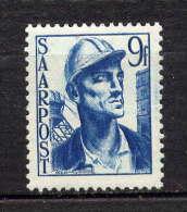 SARRE - N° 239* - MINEUR - Saargebiet