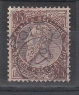 BELGIUM USED COB 49 BOIS D'HAINE - 1884-1891 Léopold II