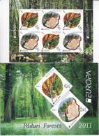 MOLDOVA   MOLDAVIE  MOLDAU  2011 ; EUROPA CEPT ; Forests ; Booklet ; MNH (**) - 2011
