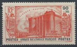 SELLOS DE ÁFRICA ECUATORIAL FRANCESA - Nuevos