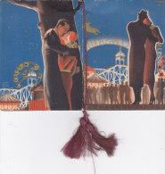 "CALENDARIETTO   ""LUNA PARCO""PROFUMO ROSA BERTELLI MILANO FIRMA  ROMOLI   1937 -2-0882-17399-398 - Calendars"
