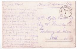Carte En SM De HAESDONCK/2/X/14 Pour Ath - WW I