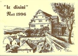 ~  25  ~    LE  DIAIRI  . NOEL 1996 . Carton  Des Concerts . - France