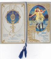 """CALENDARIETTO """"MAZURKA BLEU """"OPERETTA EDIZ. SPECIALE FRAT. CELLA MILANO PROFUMO """"ORIGANO""""   1922-2-0882-17407 -406 - Small : 1921-40"""