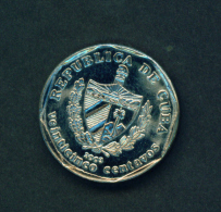 CUBA -  2003 25c Circ. - Cuba