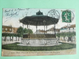 TOUL - Place De La République, Le Kiosque à Musique - Toul