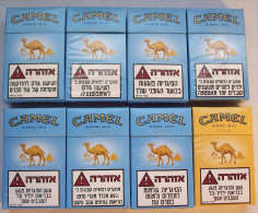 Empty Tobacco Boxes - 8items #0471. - Empty Tobacco Boxes