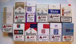 Empty Tobacco Boxes - 11 Items #0848. - Empty Tobacco Boxes