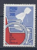 130604849  PERU  YVERT  Nº  733 - Perú