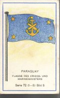 Fahnen / Flags - 72.005 - Paraguay - Trade Cards
