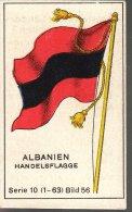 Fahnen / Flags - 10.056 - Albanien, Shqipëria, Albania - Trade Cards