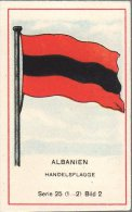 Fahnen / Flags - 25.002 - Albanien, Shqipëria, Albania - Trade Cards