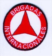Parche Brigadas Internacionales. II República Española. Guerra Civil Española. 1936-1939. - Escudos En Tela