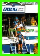CYCLISME -  LE TOUR DE FRANCE 1997 - VIRE (14) VILLE ÉTAPE - LES COUREURS AU CONTRÔLE - TIRAGE LIMITÉE 250 Ex - - Cyclisme