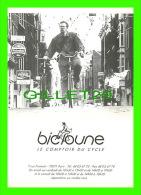 CYCLISME - BICLOUNE, LE COMPTOIR DU CYCLE - - Cyclisme