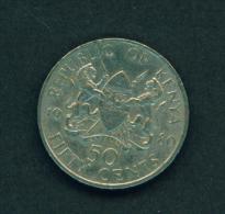 KENYA - 1980 50c Circ. - Kenya