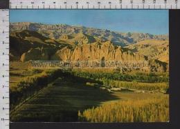 S6608 AFGHANISTAN GENERAL VIEW OF BAMIYAN BUDDHA VG SB - Afghanistan