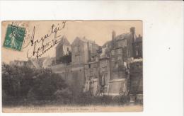 Saint Valéry Sur Somme L'Eglise Et Les Falaises - Saint Valery Sur Somme