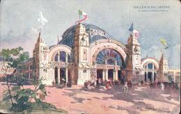 ITALY Galleria De Lavoro Artist Impression Postcard R125 - Milano