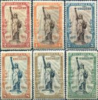 Ref. 296953 * NEW *  - URUGUAY . 1919. ESTATUA DE LA LIBERTAD DE NUEVA YORK - Uruguay