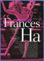 POSTCARD SIZE FILM CINEMA POSTER ADVERTISEMENT CARD For FILM MOVIE  FRANCES HA With GRETA GERWIG - Affiches Sur Carte