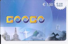 GOOGO - € 7.50 - (€ 2.50 Gratuit) - Frankrijk