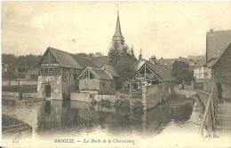 2 - BROGLIE - Les Bords De La Charentonne  - (noir Et Blanc). - France