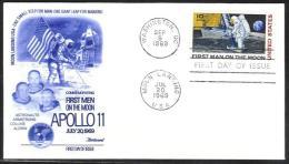 USA - N037 - Apollo 11 - First Men On The Moon - Premier Homme Sur La Lune - Briefe