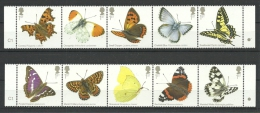Groot-Brittannie 2013 Butterflies 3888/3897 *** - 1952-.... (Elizabeth II)