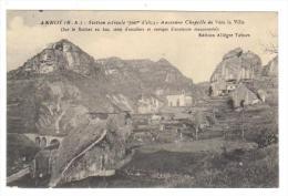 Cpa Du 04-ANNOT- Ancienne Chapelle De Vers La Ville - France