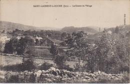 39- ST LAURENT LA ROCHE. Le Centre Du Village. Non écrite, Bon état. - Altri Comuni