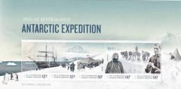 AAT  2012 Antarctic Expedition Souvenir Sheet MNH - Australian Antarctic Territory (AAT)