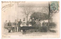 Guelma  -  Intérieur De L'hopital Militaire  1905 - Guelma