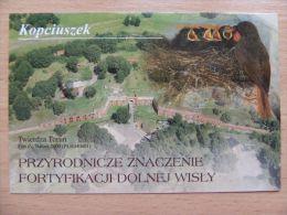 Bird / Fortress Torun /  Polish  Postcard - Oiseaux