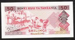TANZANIA  P23  50  SHILLINGS   1993   UNC. - Tanzanie