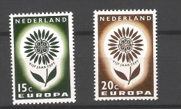 Nederland 1964Europa CEPT NVPH 827/8 Yvert 801/2 MNH ** - Neufs