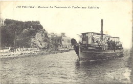 83 - Toulon : Manteau - La Traversée De Toulon Aux Sablettes - Toulon
