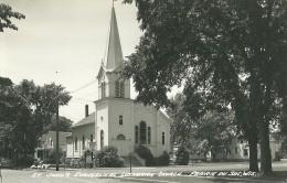 ST. JOHN'S EVANGELICAL LUTHERAN CHURCH / PRAIRIE DU SAC (WIS.) EGLISE LUTHERIENNE - Etats-Unis