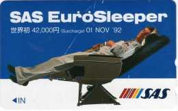Japon : SAS Eurosleeper 01 NOV '92 (Endommagée) - Vliegtuigen