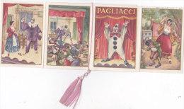 """CALENDARIETTO  OPERA LIRICA """"I PAGLIACCI"""" DI RUGGERO LEONCAVALLO 1961 -2-  0882 -17418-419 - Calendars"""