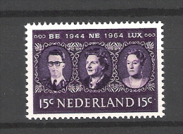 Nederland 1964 BENELUX NVPH 829 Yvert 803 MNH ** - 1949-1980 (Juliana)