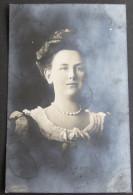 Netherlands Queen Wilhelmina Guy De Coral Real Photo Postcard - Circulated In 1906 - Königshäuser