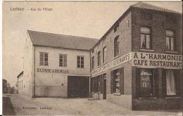 LEEFDAEL Rue Du Village Café Restaurant Harmonie Ca 1901  Re  043 - Belgique