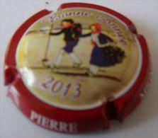 NEW CAPSULE DE CHAMPAGNE MIGNON PIERRE N°84,CTR ROUGE BONNE ANNEE 2013 PETIT JOURNAL N°315 COTE 8,00 - Mignon, Pierre