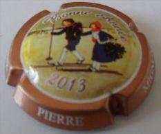 NEW CAPSULE DE CHAMPAGNE MIGNON PIERRE N°84b,CTR ROSE BONNE ANNEE 2013 PETIT JOURNAL N°315 COTE 8,00 - Mignon, Pierre