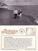 Postcard VENTNOR Pier Isle Of Wight Nostalgia Beach Sea Seaside Cliff Walk Repro - Ventnor