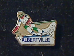 1 PIN´S JEUX OLYMPIQUES ALBERTVILLE 1992 SKIEUR  14 - Olympische Spiele