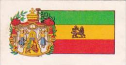 Brooke Bond Tea Trade Card Flags &amp  Emblems No 48 Ethiopia - Tea & Coffee Manufacturers